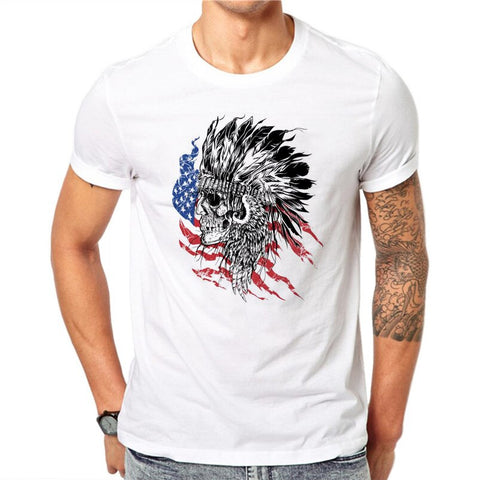 T-Shirt Indian Homme