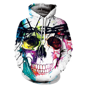 Sweat Crâne Multicolore