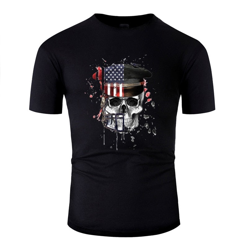 T-Shirt Drapeau USA