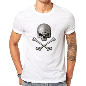 T-Shirt Tête de Mort Pirate