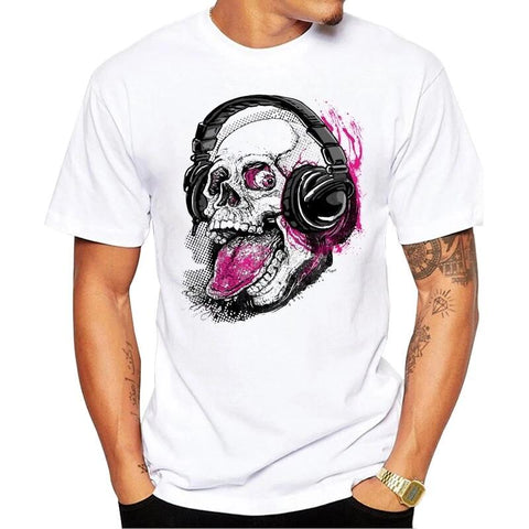 t-shirt casque