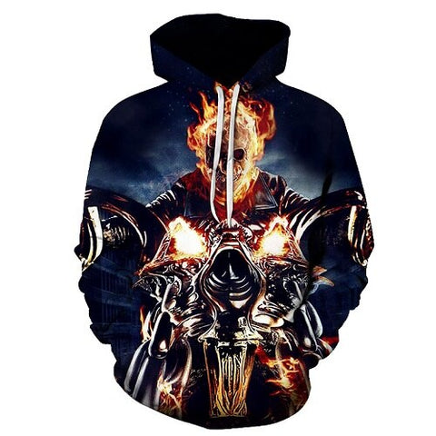 Sweat Ghost Rider