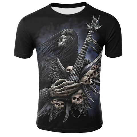 T-Shirt Metal Homme