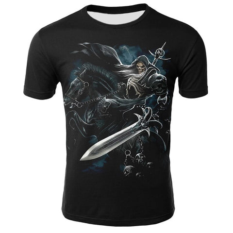 T-shirt dark fantaisie