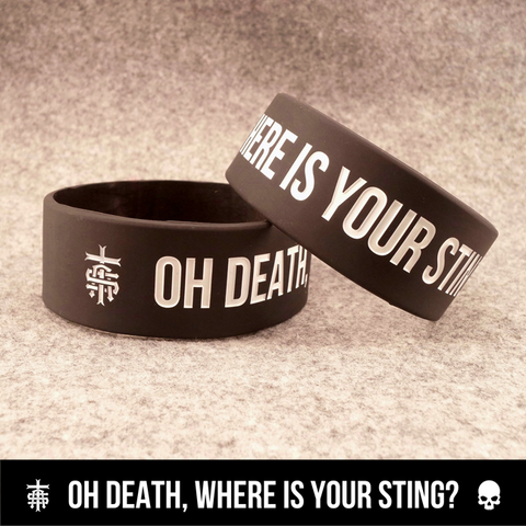 Oh Death Wristband - Truth Soul Armor