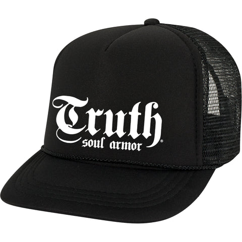 Truth Logo Foam Trucker Hat - Truth Soul Armor