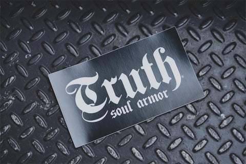 Truth Logo Vinyl Sticker 7""