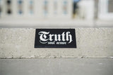 "Truth Logo Vinyl Sticker 7"" - Truth Soul Armor"