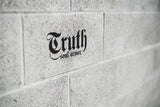 "Truth Logo Die Cut Sticker 8"" - Truth Soul Armor"