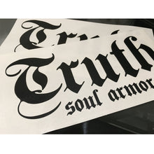 Load image into Gallery viewer, Truth Logo Die Cut Sticker 8""