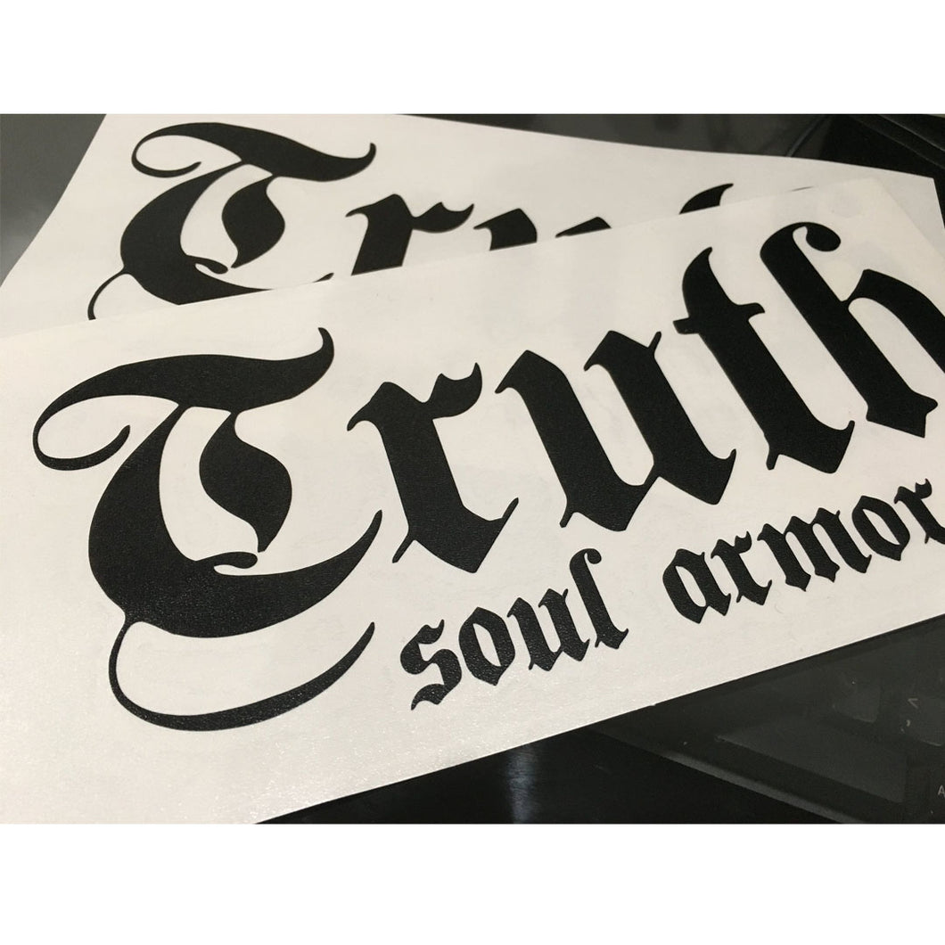 Truth Logo Die Cut Sticker 8