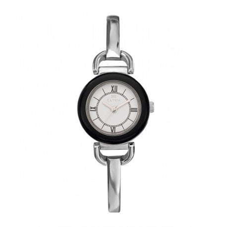 Montre Acier Bracelet Acier Semi Rigide by Clyda