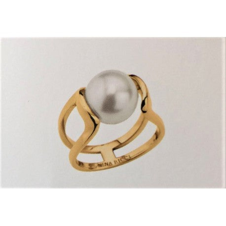 Bague Femme Plaque Or by Nina Ricci