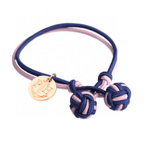 Bracelet Knot IP Rose Nylon Marine Rose by Paul Hewitt