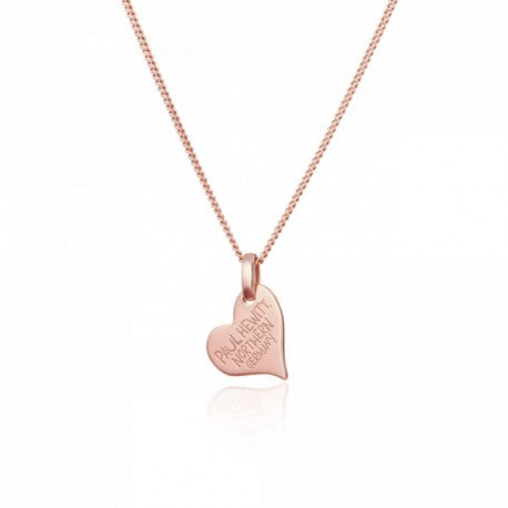 Collier North Love Argent IP Rose by Paul Hewitt
