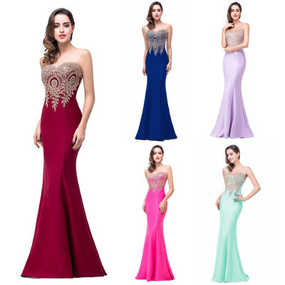 Mermaid Evening Prom Dress