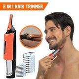 Water Resistant Nose & Ear LED Light Hair Trimmer Clipper Shaver