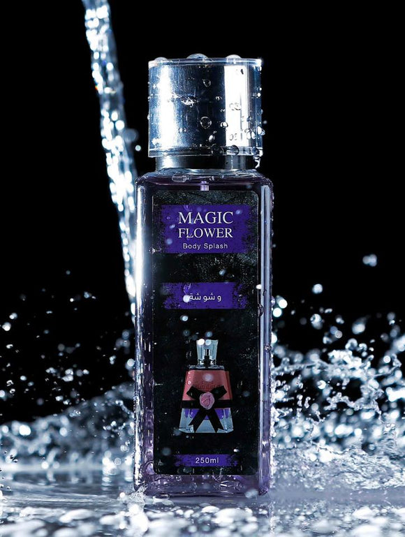 Magic Flower Washwasha Body Splash 250ml بدي سبلاش وشوشة من ماجيك فلور