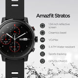 Xiaomi AmazFit Stratos Plus Smart Watch   الذكية من شاومي  AmazFit Stratos+ ساعة