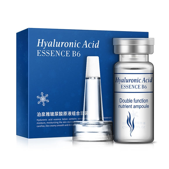 BIOAQUA Hyaluronic Acid Essence B6 Glycerol Tender Smooth Skin Serum 5ml10PCS/Box