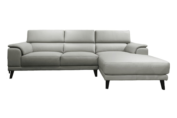 GOSA L-Shape Full Leather Sofa (Right Facing)