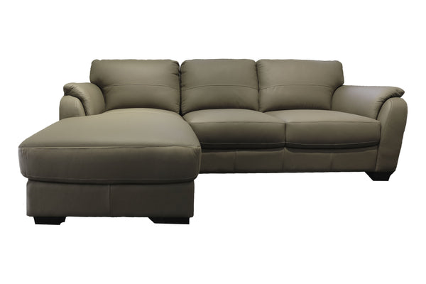 VARMA L-Shape Full Leather Sofa