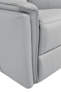 BOKKI Full Leather Recliner Armchair