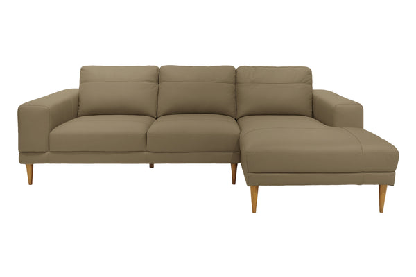 LEDIG L-Shape Full Leather Sofa