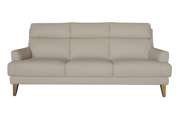 SMIDIG 3 Seater Full Leather Sofa