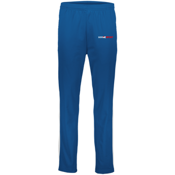 YDKM Sport Logo - Youth Performance Colorblock Pants {Royal Blue, White & Red}
