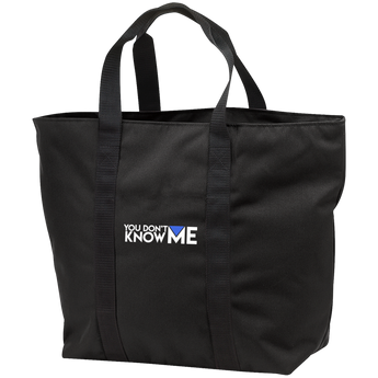 You Don't Know Me Logo All Purpose Tote Bag