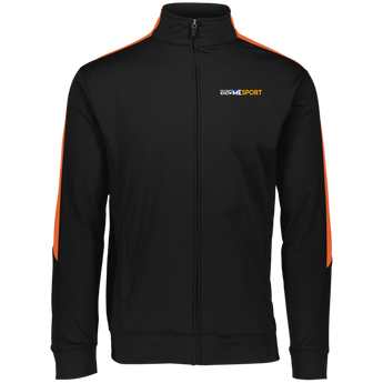 YDKM Sport Logo (orange) - Performance Colorblock Full Zip