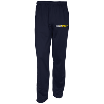 YDKM Sport Logo - Youth Warm-Up Track Pants {Blue & Gold}