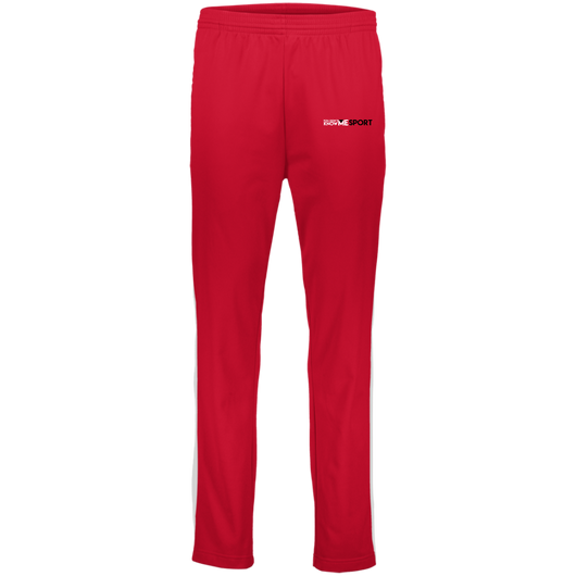 YDKM Sport Logo - Youth Performance Colorblock Pants {Red, White & Black}