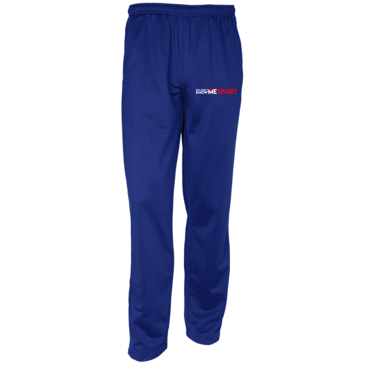 YDKM Sport Logo - Youth Warm-Up Track Pants {Royal Blue, White & Red}