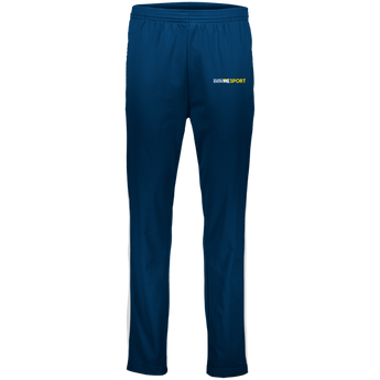 YDKM Sport Logo - Youth Performance Colorblock Pants {Blue & Gold}