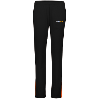 YDKM Logo (orange) - Ladies' Performance Colorblock Pants
