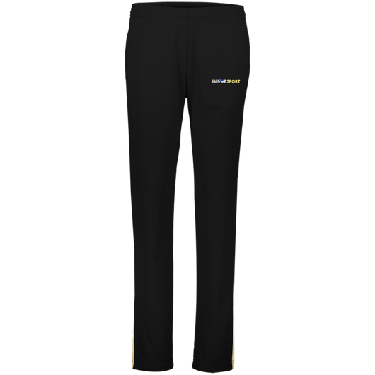 YDKM Logo (vegas gold) - Ladies' Performance Colorblock Pants