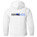 YDKM KIDS - Live Laugh Love Learn PLAY - Toddler Pullover Hoodie {White}