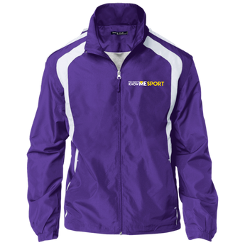 YDKM Sport Logo - Jersey-Lined Jacket {Purple & Gold}