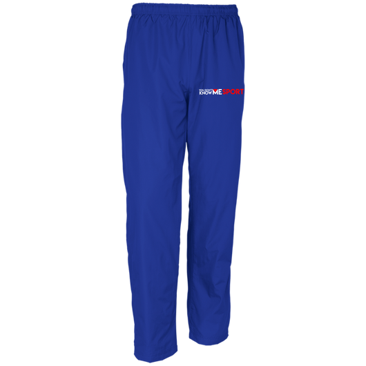 YDKM Sport Logo - Youth Wind Pant {Royal Blue, White & Red}