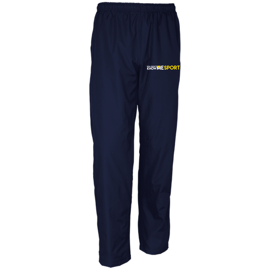 YDKM Sport Logo - Youth Wind Pant {Blue & Gold}