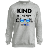 YDKM KIDS - Kind Is The New Cool - Youth Crewneck Sweatshirt {12 Colors}