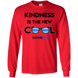 YDKM KIDS - Kindness Is The New Cool - Youth LS T-Shirt