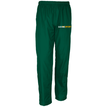 YDKM Sport Logo - Youth Wind Pant {Green & Orange}