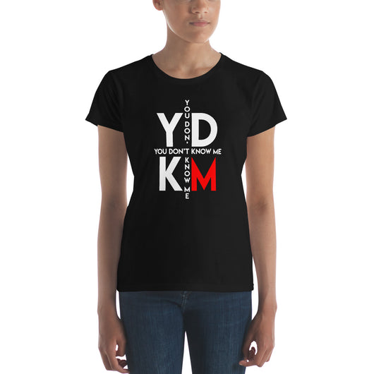 Women's short sleeve YDKRM Plus w t-shirt