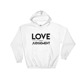 YDKM - Love Over Judgement - Hooded Sweatshirt {6 Colors}