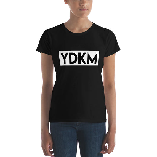 Women's short sleeve YDKM Block w t-shirt