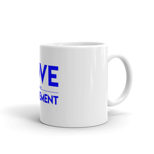 Love Over Judgement Mug (Blue)