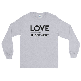 YDKM - Love Over Judgement - Long Sleeve T-Shirt {10 Colors}